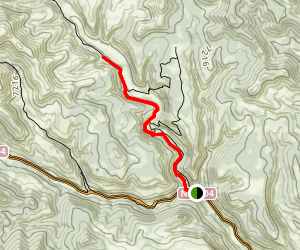 Campos Heck - T- Rex Track Trail [PRIVATE PROPERTY] Map