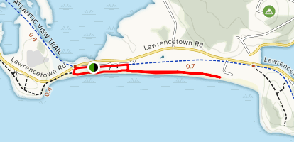 Lawrencetown Beach Map