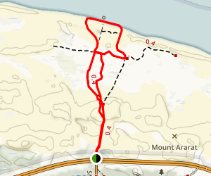 Sand Dune Trail Map