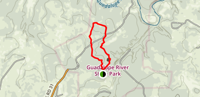 Painted Bunting Trail Map