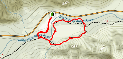 Zumwalt Meadow Loop Trail Map