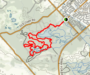 PWT and Outback Loop Trail Map