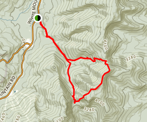 Carter Notch Hut, Dome, and 19 Mile Brook Trail Map