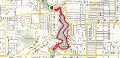 Lanterman's Mill Trail Map