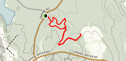 Range Pond Loop Map