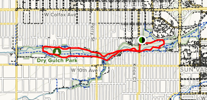Dry Gulch Trail Loop Map