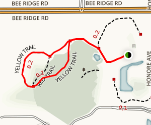 Urfer Family Park Loop Map