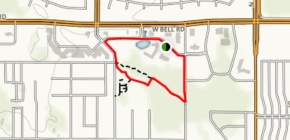Centennial Friendship Park Loop Map