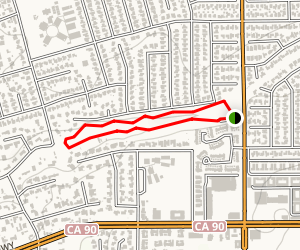La Mirada Creek Park Loop Map