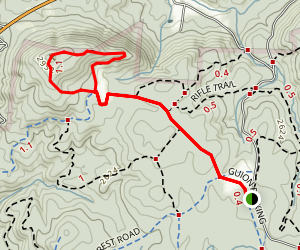 Hickory Mountain Loop Map