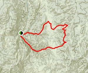 Second Water and Fifth Water Loop Trail Map
