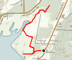 Hood Canal and Theler Wetlands Trails [CLOSED] Map