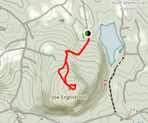 Joe English Hill Trail Map