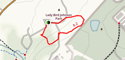 Lady Bird Johnson Park Map