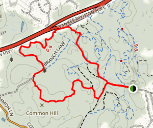 Common Hill Loop Map