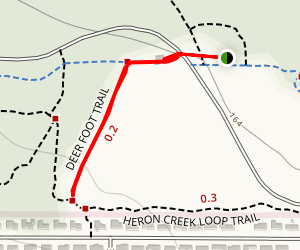 Deer Foot Trail Map