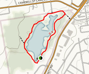 Dorrs Pond Loop Map