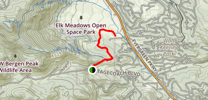 Sleepy's Trail Map