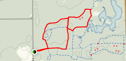 Rose Lake Loop Map