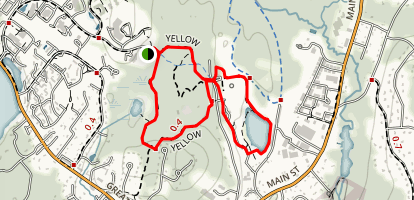 Willis Hole Conservation Land and Nara Park Loop Map