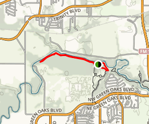 Trinity River Trail Map
