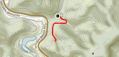 Henson's Arch Trail Map