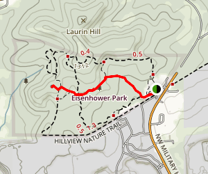 Cedar Flats Trail Map