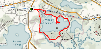 West Reservoir Map