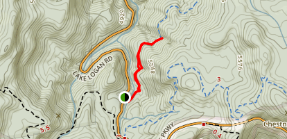 Wildcat Falls Map