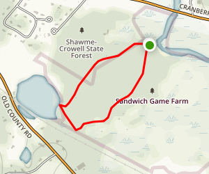 Scorton Creek and Hoxie Pond Loop Map