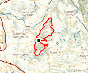 Les Gorges de l'Isle Map