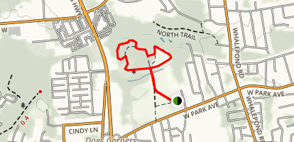 Sweetbriar Trail Loop Map