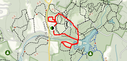 Lantern and Corn Cob Loop Trail Map