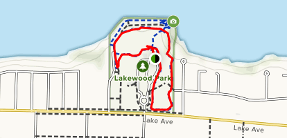 Lakewood Park Map