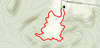 Bandy Creek Loop Trail Map