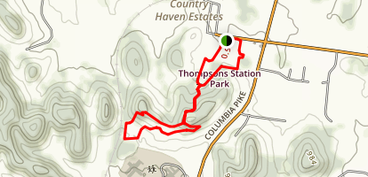 Stephen's Trail Map