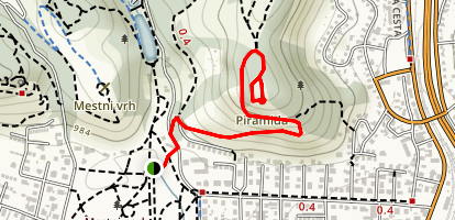 Piramida Hill Maribor Maps Photos Reviews AllTrails - Slovenia map hd