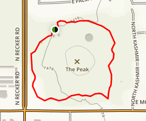 Desert Trails Park Loop Map