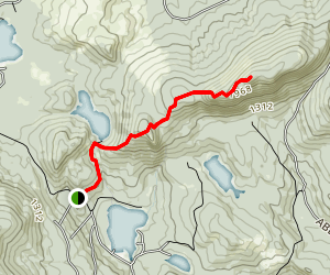 Bald Mountain and Speckled Mountain Map