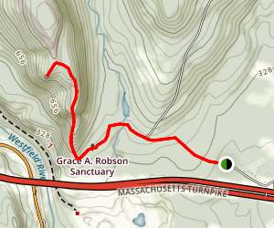 Grace A. Robson Sanctuary Trail Map