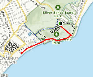 Silver Sands State Park Trail Map