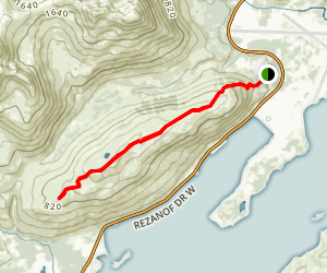 Old Women's Mountain Trail Map