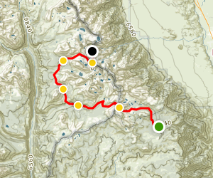 Horseshoe Meadows to Mount Whitney via New Army Pass Map