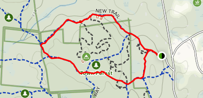 New Trail and Holliston Highway Map