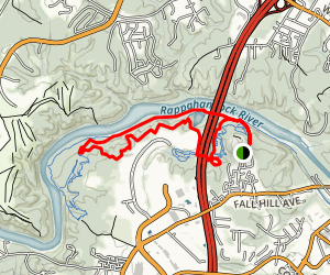 Rappahannock River Loop Map
