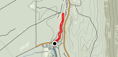 West Metolius Loop from Camp Sherman Map