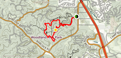 Restoration Way Trail Loop Map