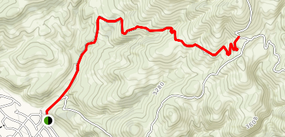 Homestead (Squaw Creek) Trail Map