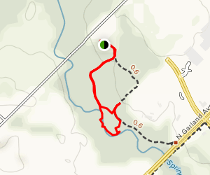 Spring Creek Preserve Trail Map