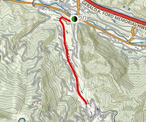 Village Road Trail Map